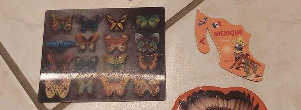 Nouveaux magnets dans ma collection en photos