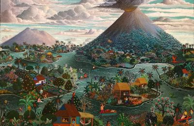 Art on the ways of fire : primitivist Nicaraguan paintings