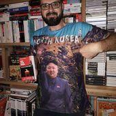 Johann Vergeraud, professeur d'Histoire et géographie, chroniqueur littéraire dit l'homme aux T. shirts incroyables ! - Le blog de Philippe Poisson