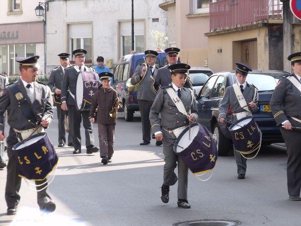 Commémoration du 8 mai à Algrange en 2010