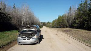 Canada - Celui qui cassait la voiture...