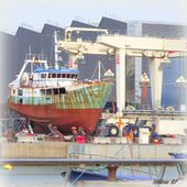 Photos de bateaux, d'épaves, de chantiers navals - Hélène SF