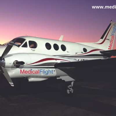 Medical flight services in India