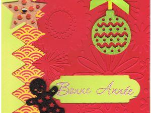 """Quelques cartes """"maison"""" pour vous souhaiter à tous et toutes une merveilleuse année 2014, la joie dans vos foyers, la bonne humeur, la santé, et l'espérance. Evidemment de jolies créations pour les artistes en herbe que nous sommes tous et toutes :-) et le plaisir de continuer à suivre vos blogs. Bises"""