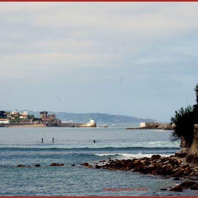SOCOA le Fort depuis Ste Barbe (St Jean de Luz 64)