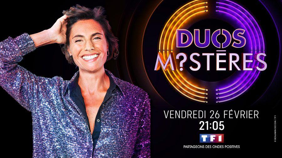 """""""Duos mystères"""", nouveau divertissement présenté par Alessandra Sublet le 26 février sur TF1"""