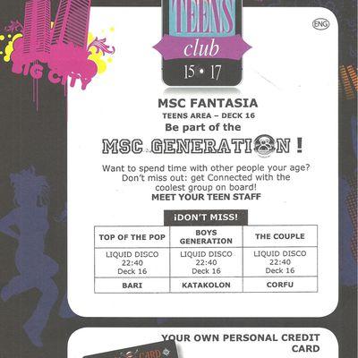 Teens Club / 15-17 ans