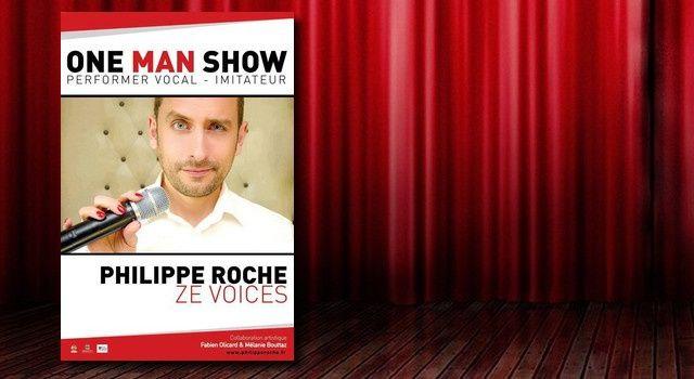 """Philippe Roche dans """"Ze Voices"""""""