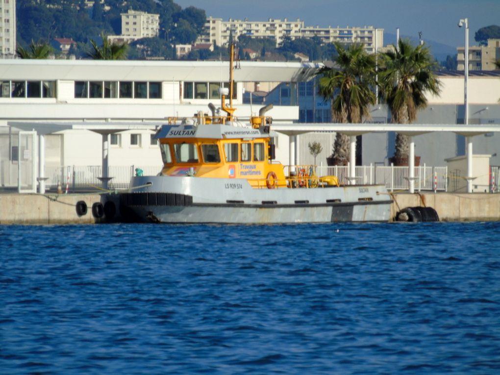 SULTAN , a quai à la Seyne sur mer le14 decembre 2018