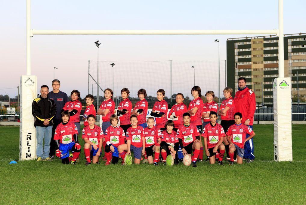 Photos des équipes de l'Avenir Muretain XV saison 2011-2012