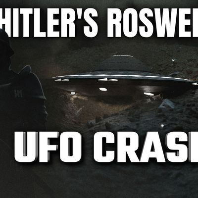UFO SIGHTING NEWS : Hitler's Roswell, Did Alien Saucer Crash In 1937 Nazi Germany ? 👽