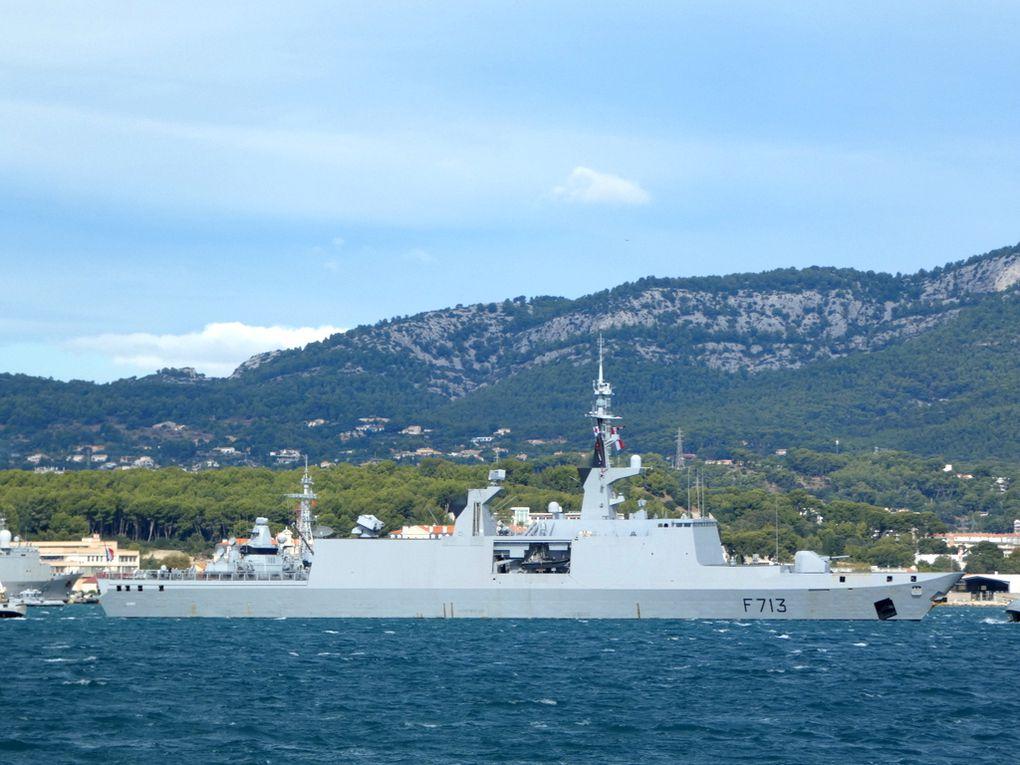 ACONIT  F713 , appareillant  de Toulon  le 28 septembre 2020