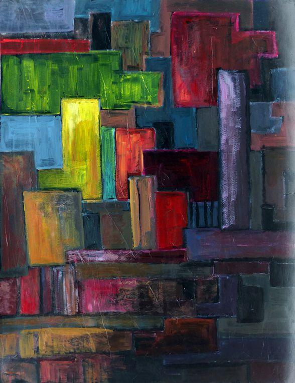 2 peintures de Ladin Sabras