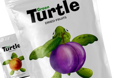 Packaging : Green Turtle, un emballage très inspirant !