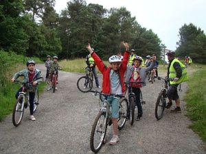 CM1 Sortie vélo avec les correspondants