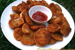 pomme de terre frites à la chapelure