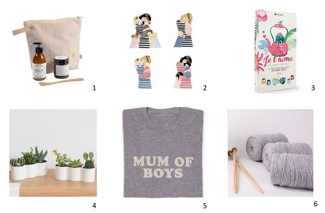 6 idées cadeaux pour fêter nos mums!