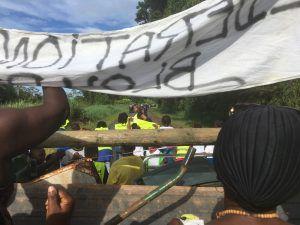 Guyane: le quartier des Manguiers en colère!!