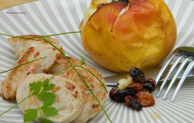 Boudin de Haybes et pommes aux épices