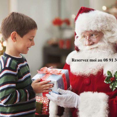 pere noel Grenoble : la visite à domicile le 24 ou le 25 decembre