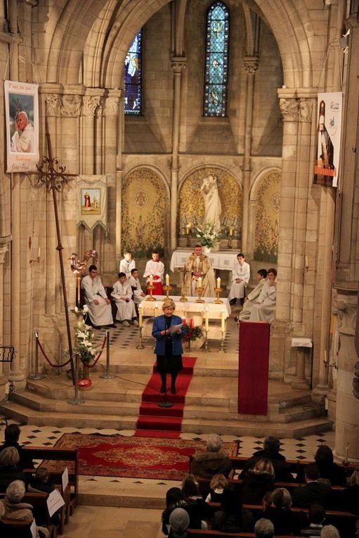 Dimanche 16 décembre 2012 bénédiction de la croix et du coq du clocher