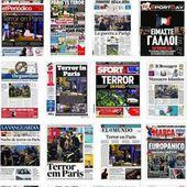 EN IMAGES. Les attentats de Paris à la une des journaux du monde entier et le commentaire de Jean LEVY - Ça n'empêche pas Nicolas