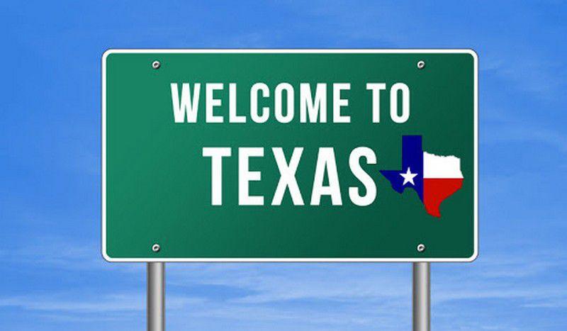 Le Texas prend le large