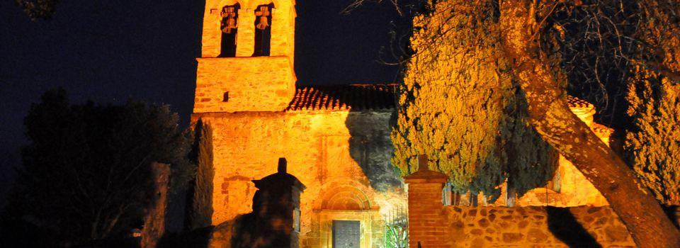 Visite nocture à Castelnou