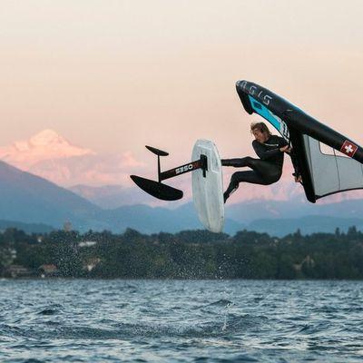 Réaliser une émission autour de la pratique du Wingfoil sur le lac de Neuchâtel