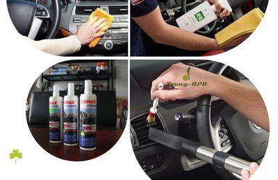 Đánh giá chi tiết bộ dụng cụ chăm sóc nội thất ô tô