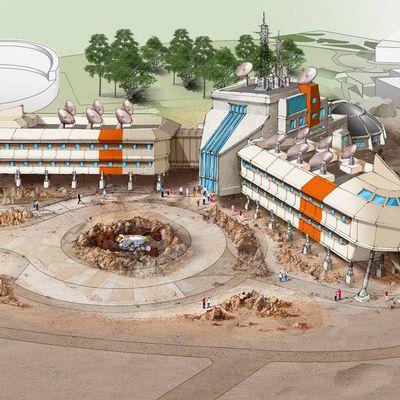L'Hôtel Station Cosmos du Futuroscope en orbite au printemps 2022