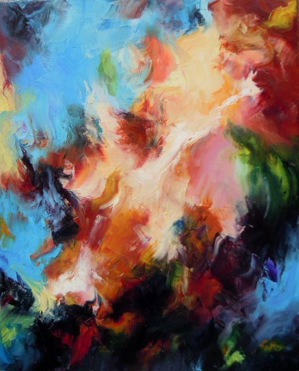 Album - huile abstrait
