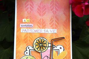 Carte Cocktail de vitamines_ Invitée Créative de La Compagnie des Elfes_Tuto