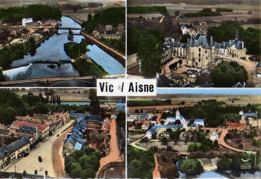 Album - le village de Vic sur Aisne
