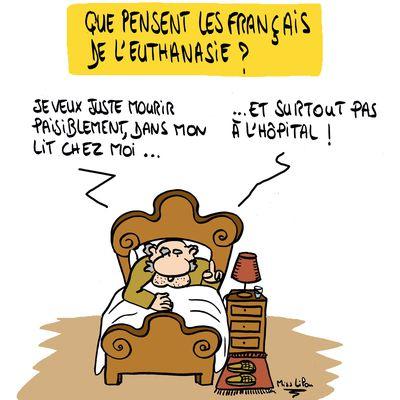 """""""Que pensent les Français de l'euthanasie ?"""""""