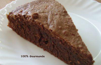 Gateau chocolat-noisette