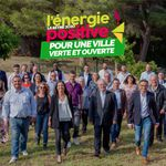 En clip vidéo, l'équipe « La Seyne 2020, l'énergie positive pour une ville verte et ouverte »