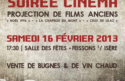 Projections de films anciens - samedi 16 février 2013
