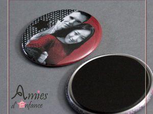 Accessoires [Badget, magnet , porte-clés...]