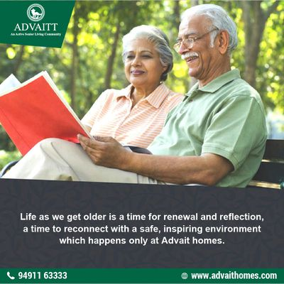 Luxury old age homes in India