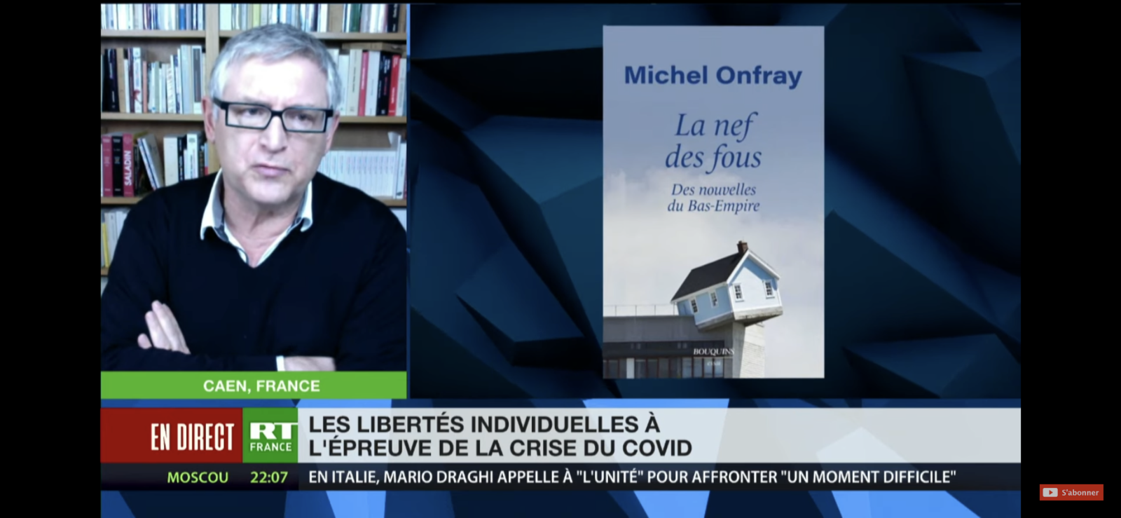 Michel Onfray - RT France - 03.02.2021