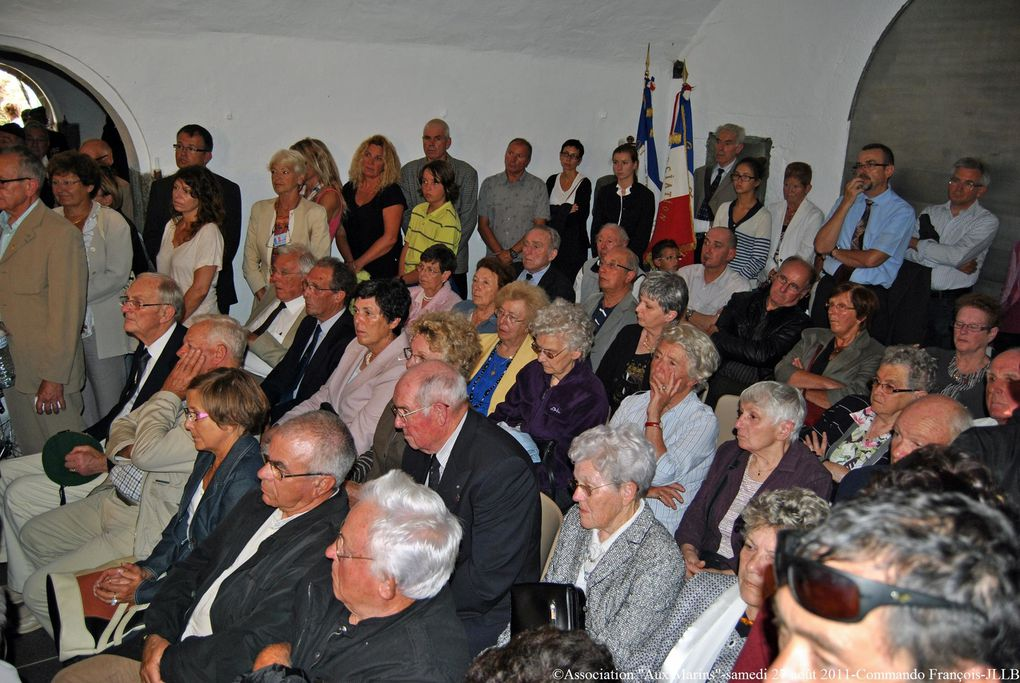 Samedi 27 août 2011, cérémonie à la mémoire des 49 mars du Commando François morts pour la France à Ninh-Binh(Tonkin) le 29 mai 1951
