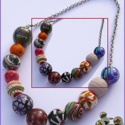 J'avais des perles, j'ai fais un collier