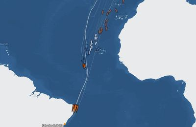 Transat Jacques Vabre - Coville and Josse heading for record-breaking photo finish in Salvador de Bahia tomorrow