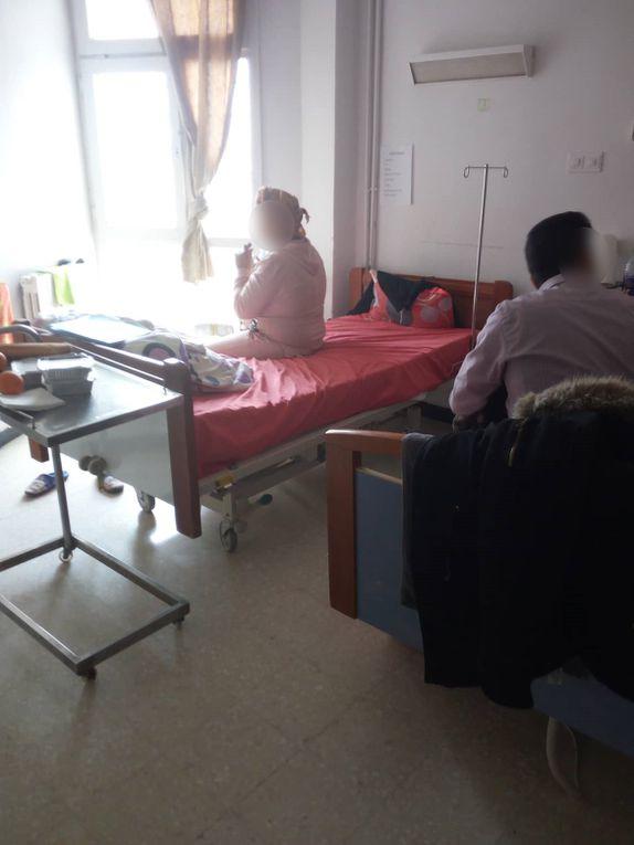 Le 09 janvier 2020 - Hôpital Mongi Slim - le matériel livré est utilisé