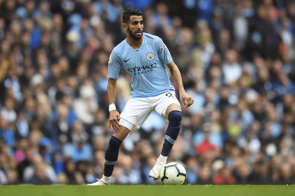 Riyad Mahrez de retour a Manchester City