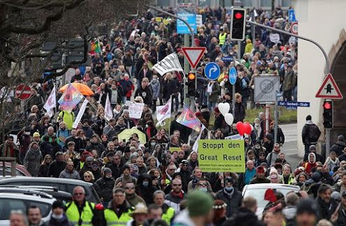 Germany - Freedom Rally 20 March 2021