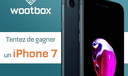 Aidez-moi à gagner un iPhone 7 grâce à@wootbox_fr https://wn.nr/2nbw6Z