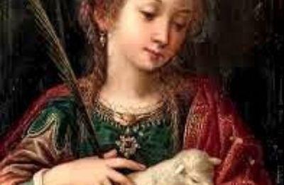 21 Janvier ste Agnès vierge et Martyre