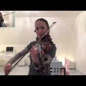 With or without you U2 (violon/violin) (Céline Prussel, violoniste) - U2 BLOG